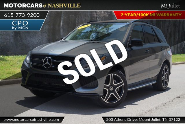 2018 Used Mercedes-Benz GLE 350 4MATIC AMG LINE SUV at MotorCars Of  Nashville - Downtown, TN, IID 18942231