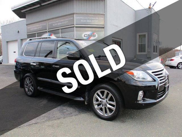 2015 Used Lexus LX 570 4WD 4dr at Central Motor Sales Serving Wrentham, MA,  IID 18423704