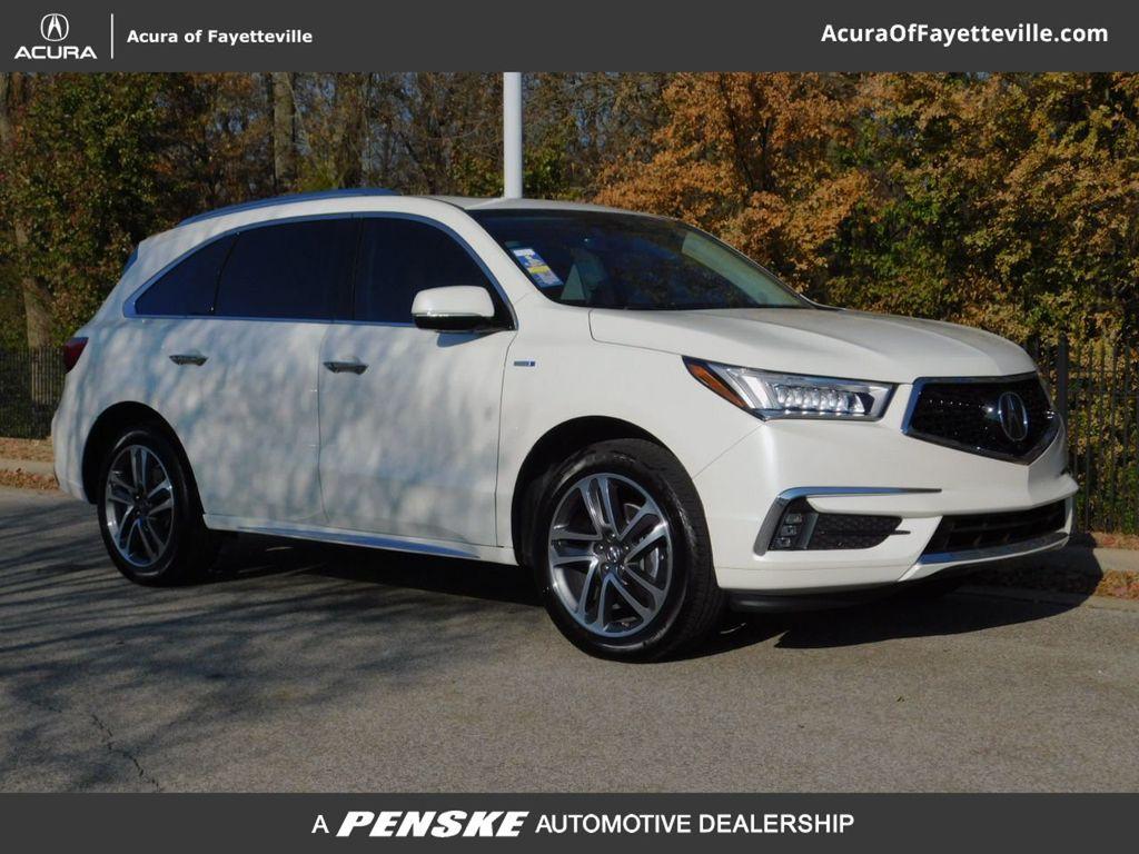 Certified Pre-Owned 2019 Acura MDX SH-AWD Sport Hybrid w/Advance Pkg