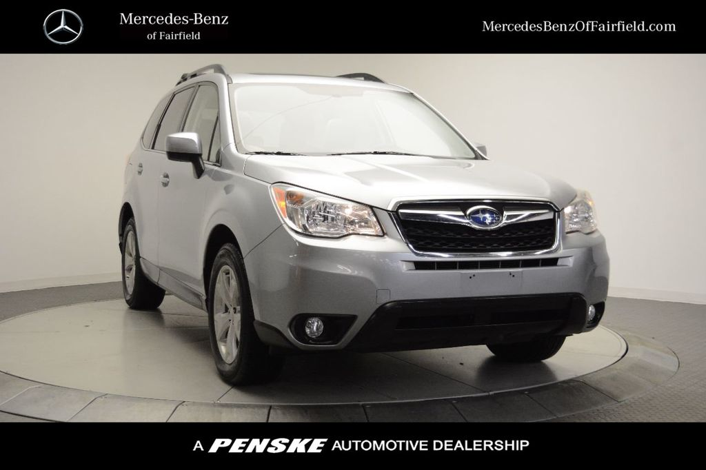 Pre-Owned 2015 Subaru Forester 4dr CVT 2.5i Limited PZEV