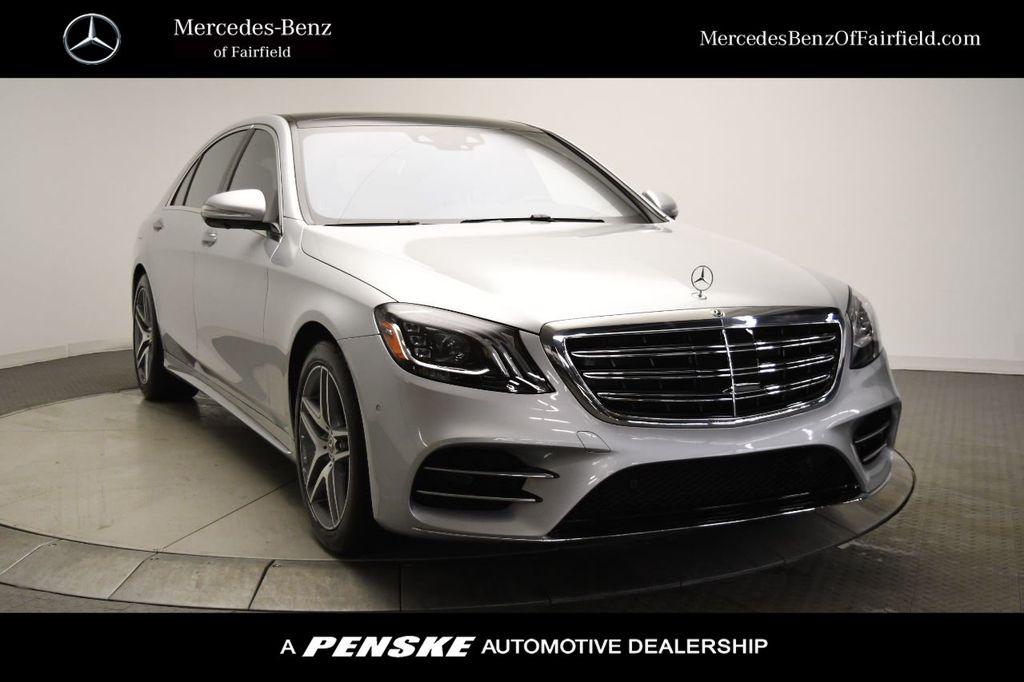 New 2020 Mercedes-Benz S-Class S 560 4MATIC® Sedan