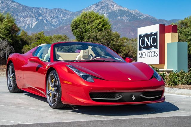 2013 Ferrari 458 Spider For Sale