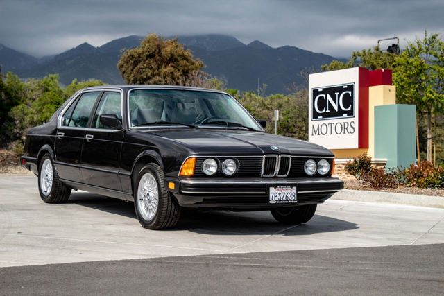 1986 BMW 7 Series For Sale