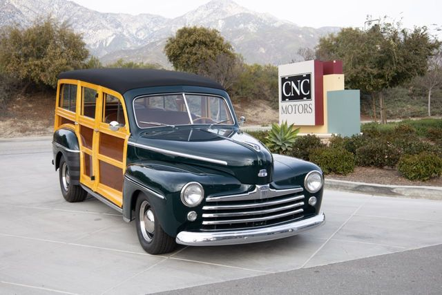 1947 Ford Woody Super Deluxe Wagon For Sale