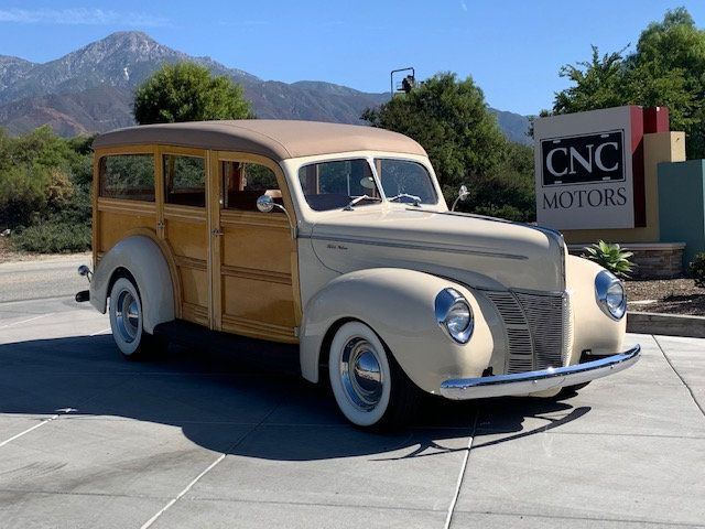 1940 Ford Woody For Sale