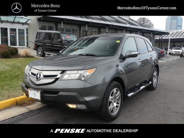 Pre-Owned 2007 Acura MDX 4WD 4dr