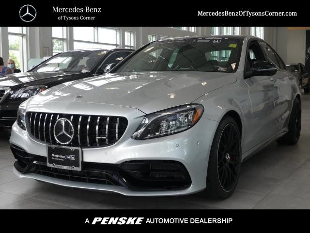 Pre-Owned 2020 Mercedes-Benz C-Class AMG® C 63 S Sedan