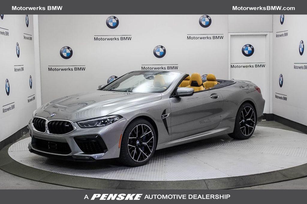 New 2020 BMW M8 2 door convertible