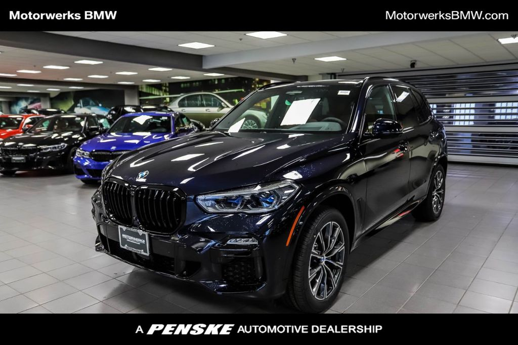 New 2021 BMW X5 xDrive40i Sports Activity Vehicle