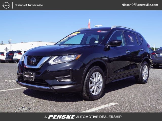 Certified Pre-Owned 2018 Nissan Rogue AWD SV