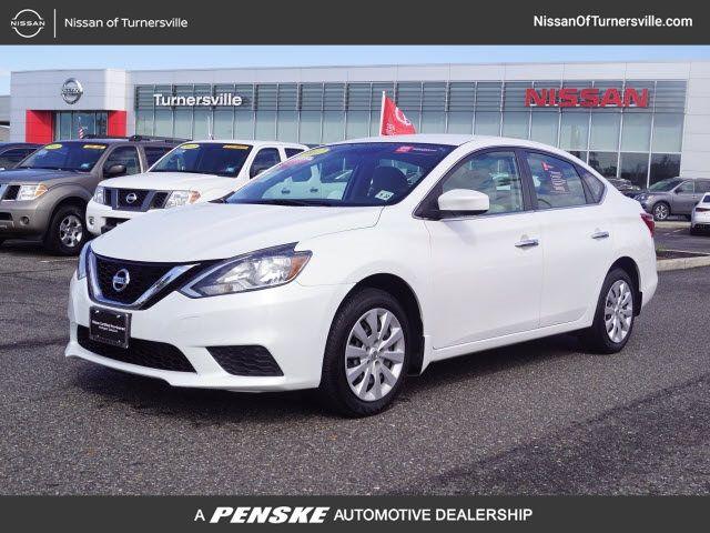 Certified Pre-Owned 2017 Nissan Sentra SV CVT