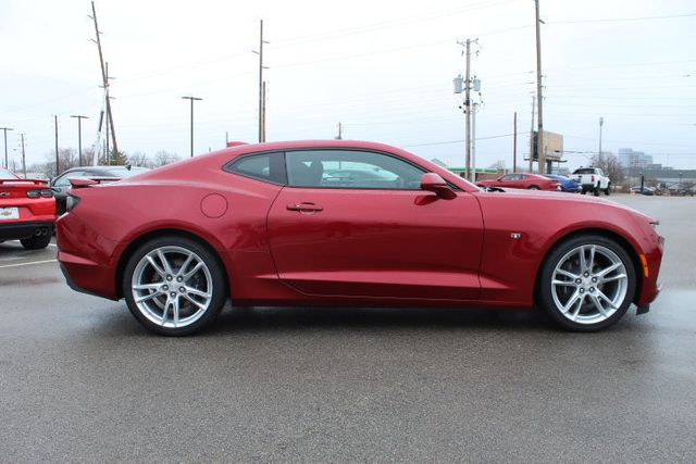 2019 Red Chevrolet Camaro  2dr Coupe SS w/1SS | Sixth Generation Camaro Photo 5