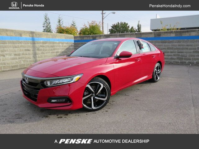 Pre-Owned 2019 Honda Accord Sedan Sport 1.5T CVT