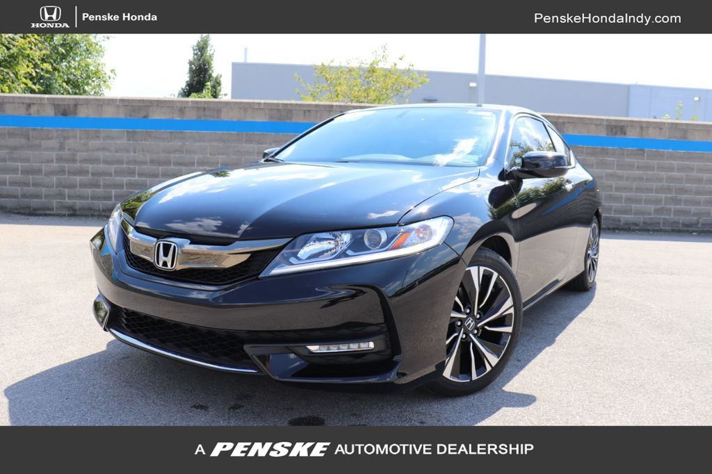 Certified Pre-Owned 2017 Honda Accord Coupe EX-L CVT