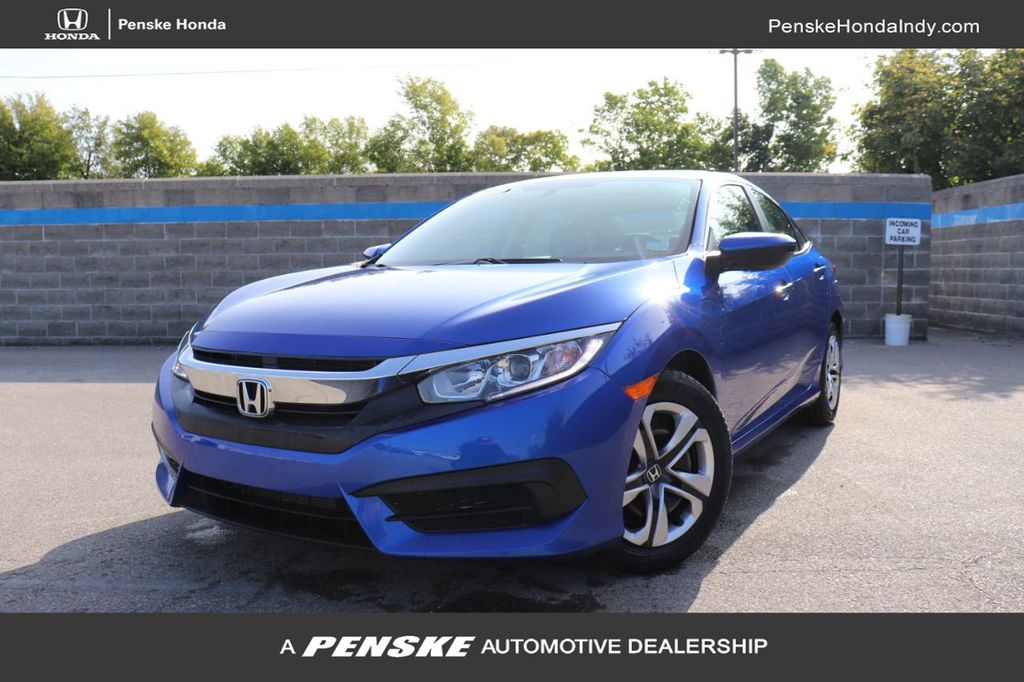 Certified Pre-Owned 2018 Honda Civic Sedan LX CVT