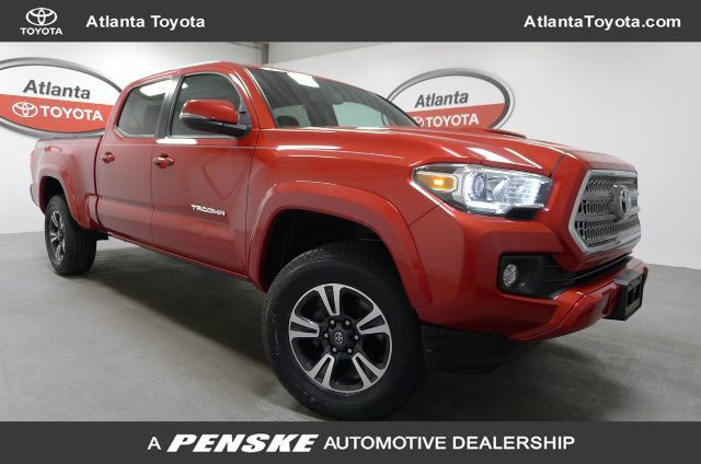 Certified Pre-Owned 2016 Toyota Tacoma SR5 Double Cab 2WD LB V6 Automatic
