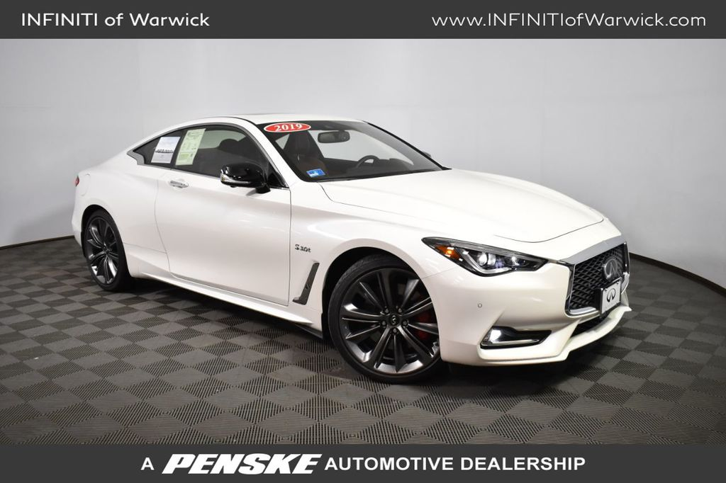 Certified Pre-Owned 2019 INFINITI Q60 RED SPORT 400 AWD