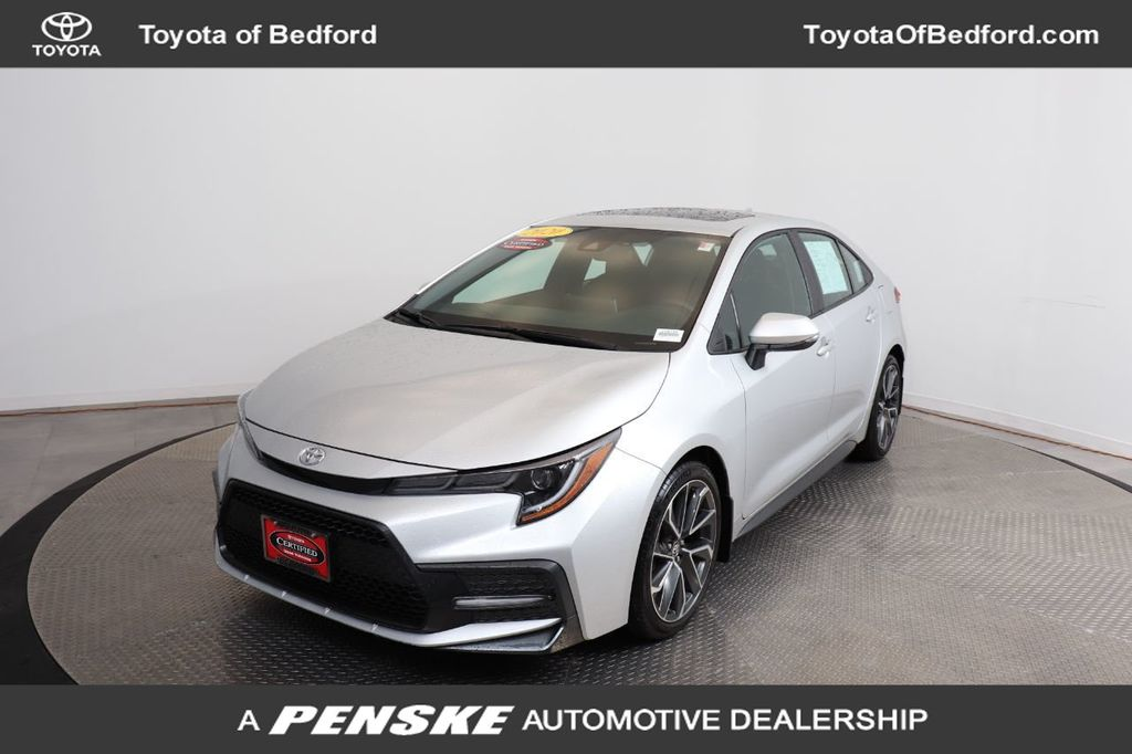 Certified Pre-Owned 2020 Toyota Corolla SE CVT