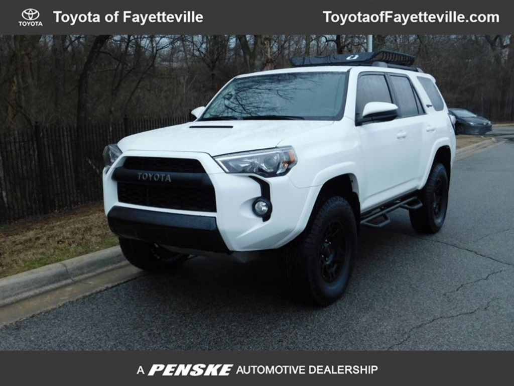 certified pre owned 2016 toyota 4runner 4wd 4dr v6 trd pro suv at toyota of fayetteville. Black Bedroom Furniture Sets. Home Design Ideas