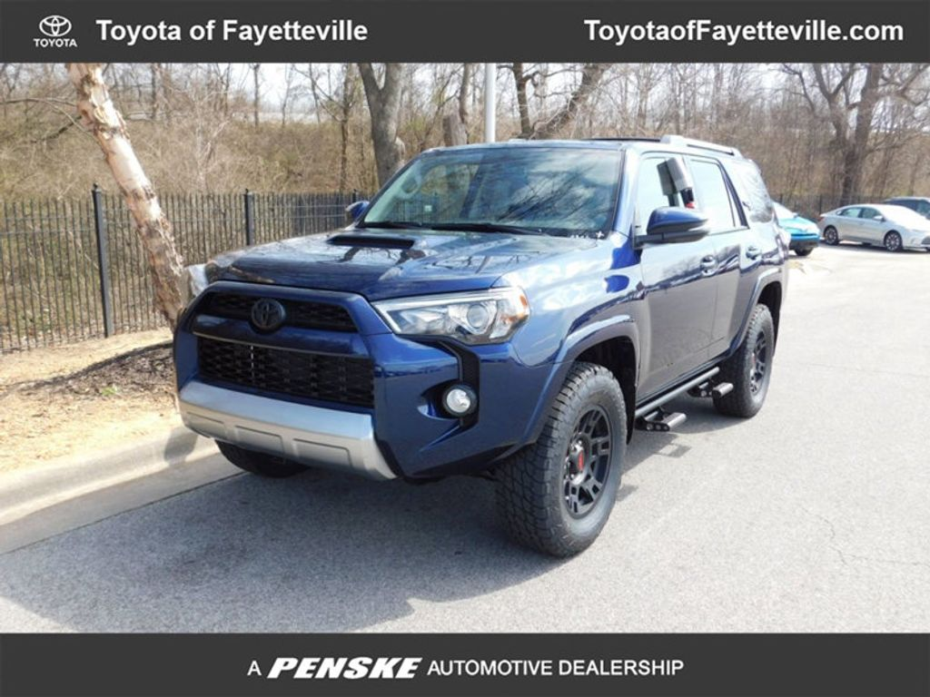 new 2018 toyota 4runner trd off road premium 4wd suv at toyota of fayetteville j5542107. Black Bedroom Furniture Sets. Home Design Ideas