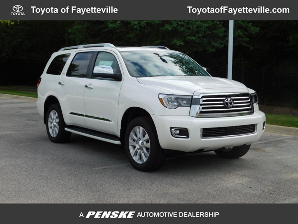 New 2018 Toyota Sequoia Platinum 4wd Suv At Toyota Of