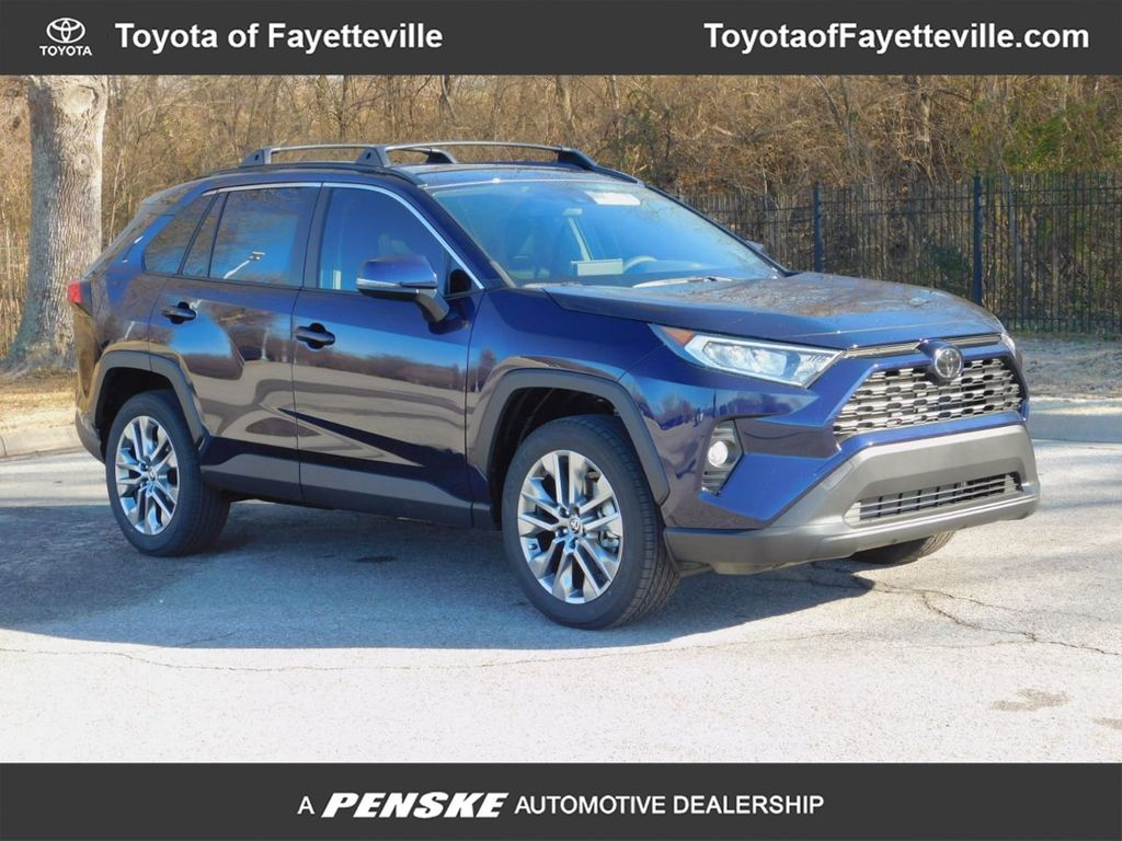 New 2020 Toyota Rav4 Xle Premium Fwd Suv At Toyota Of Fayetteville