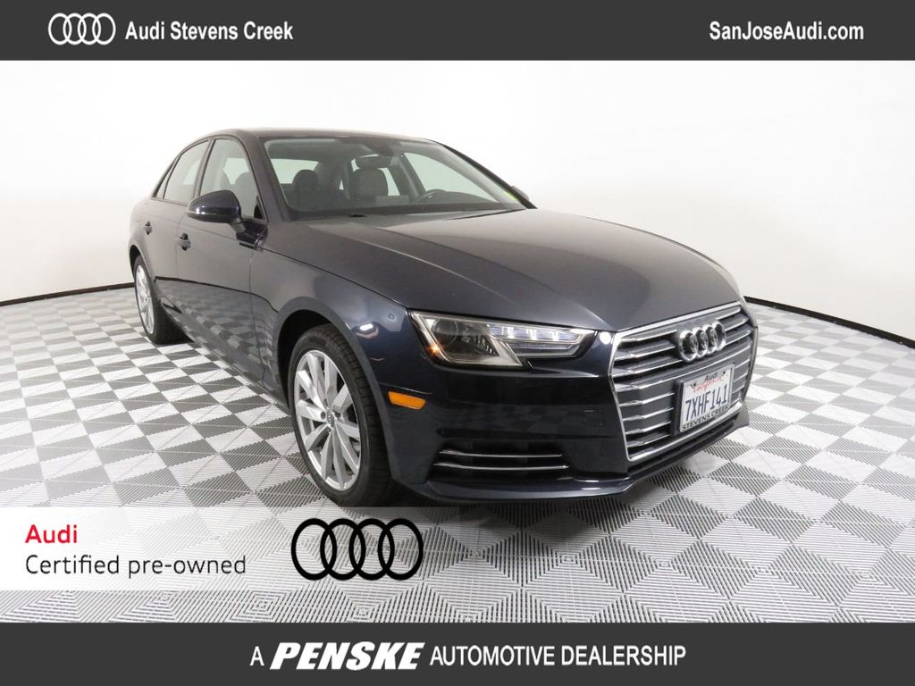 Audi Certified Pre Owned >> Certified Pre Owned 2017 Audi A4 2 0 Tfsi Automatic Premium Fwd Front Wheel Drive Sedan