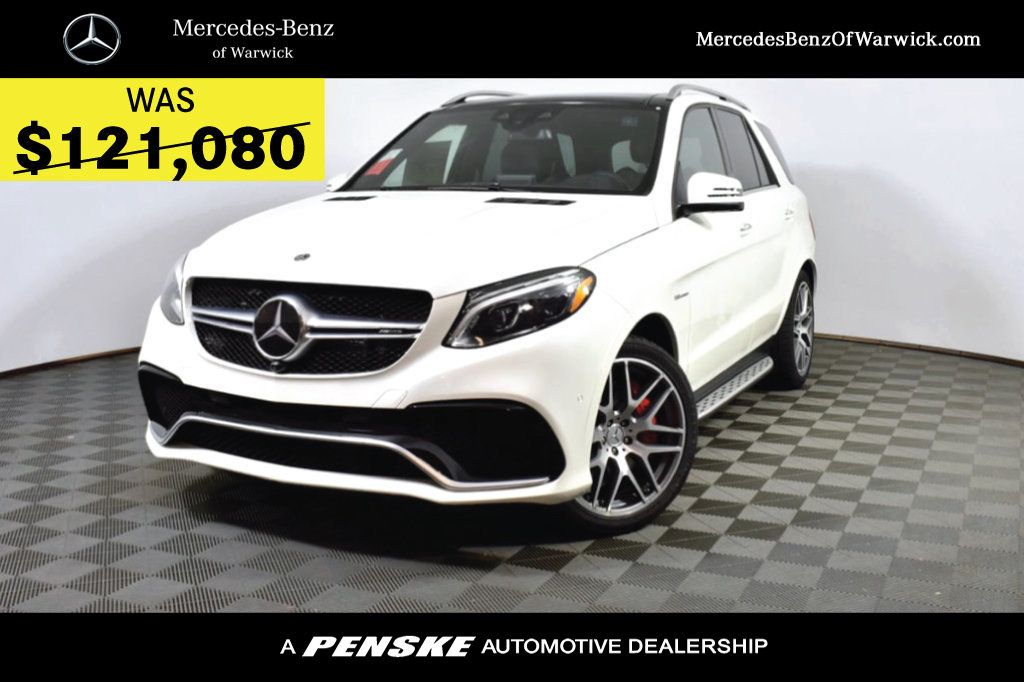 New 2019 Mercedes-Benz GLE AMG® GLE 63 S 4MATIC SUV