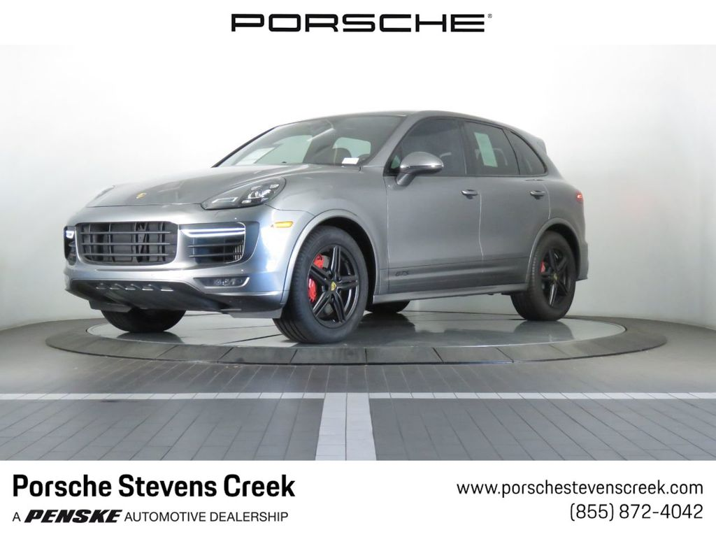 Certified Pre-Owned 2017 Porsche Cayenne GTS AWD