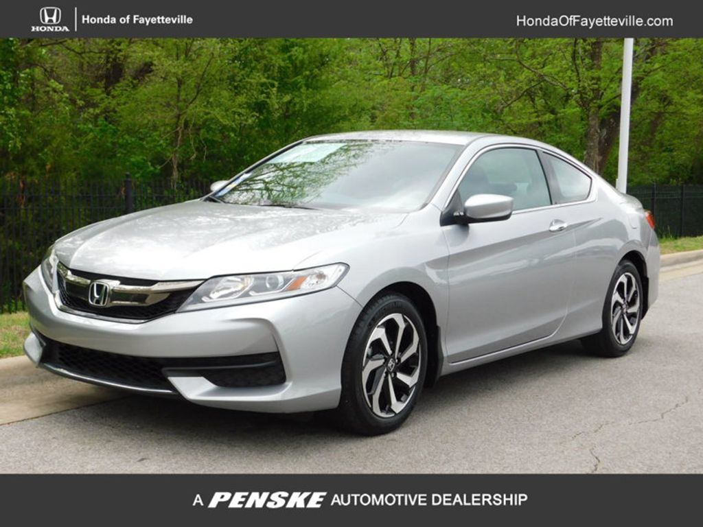 Certified pre owned 2016 honda accord coupe 2dr i4 cvt lx for Honda accord cvt lx