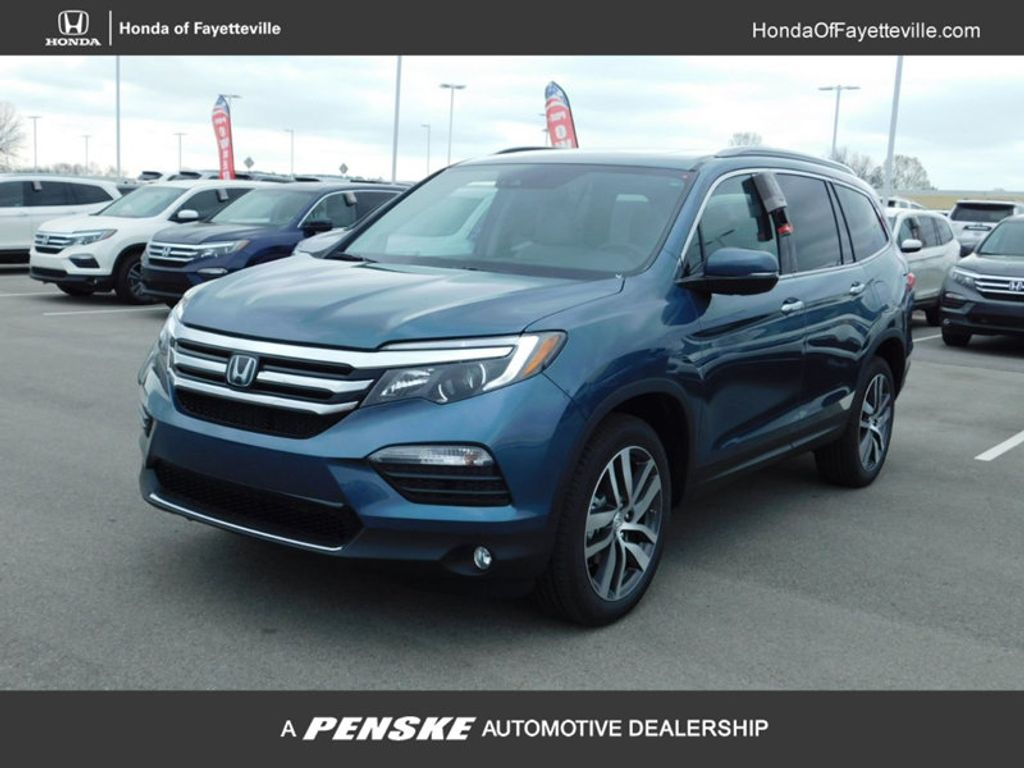 new 2018 honda pilot elite awd suv at honda of fayetteville jb041890 penske sale. Black Bedroom Furniture Sets. Home Design Ideas