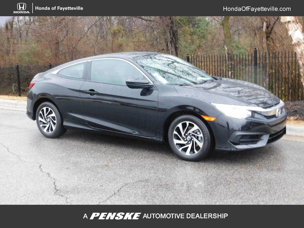 Certified Pre-Owned 2018 Honda Civic Coupe LX-P CVT