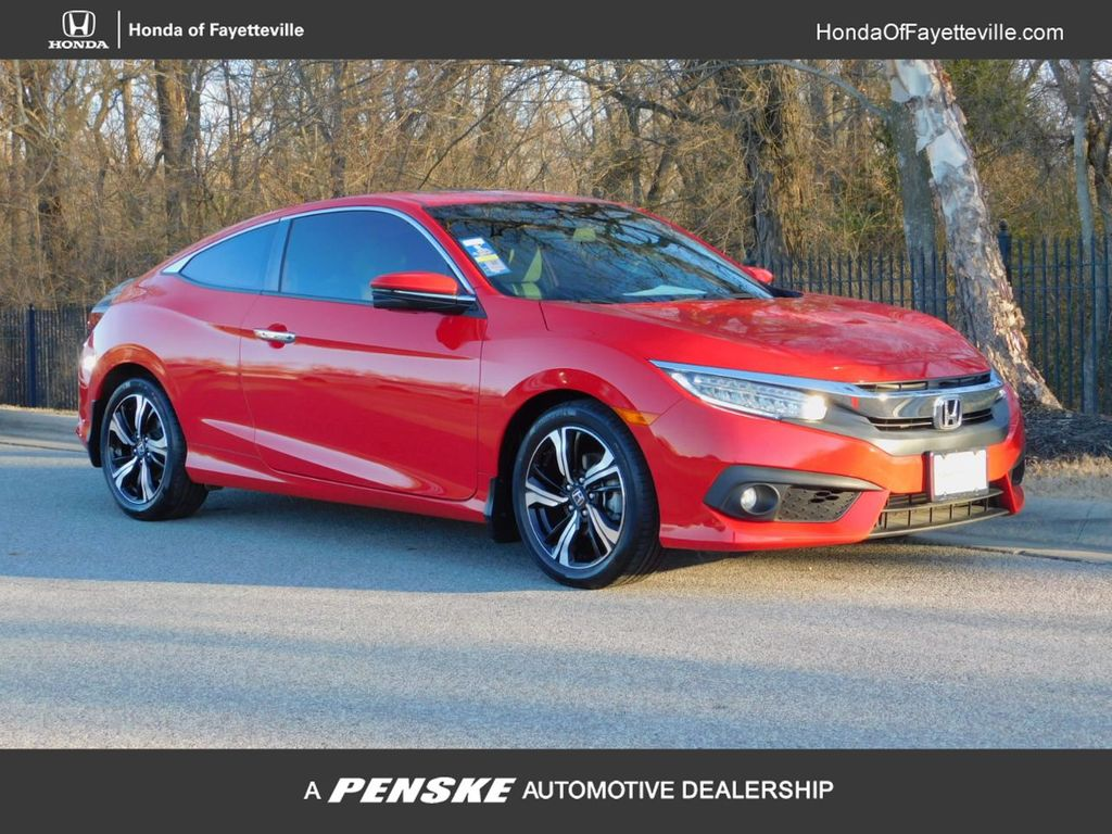 Certified Pre-Owned 2016 Honda Civic Coupe 2dr CVT Touring