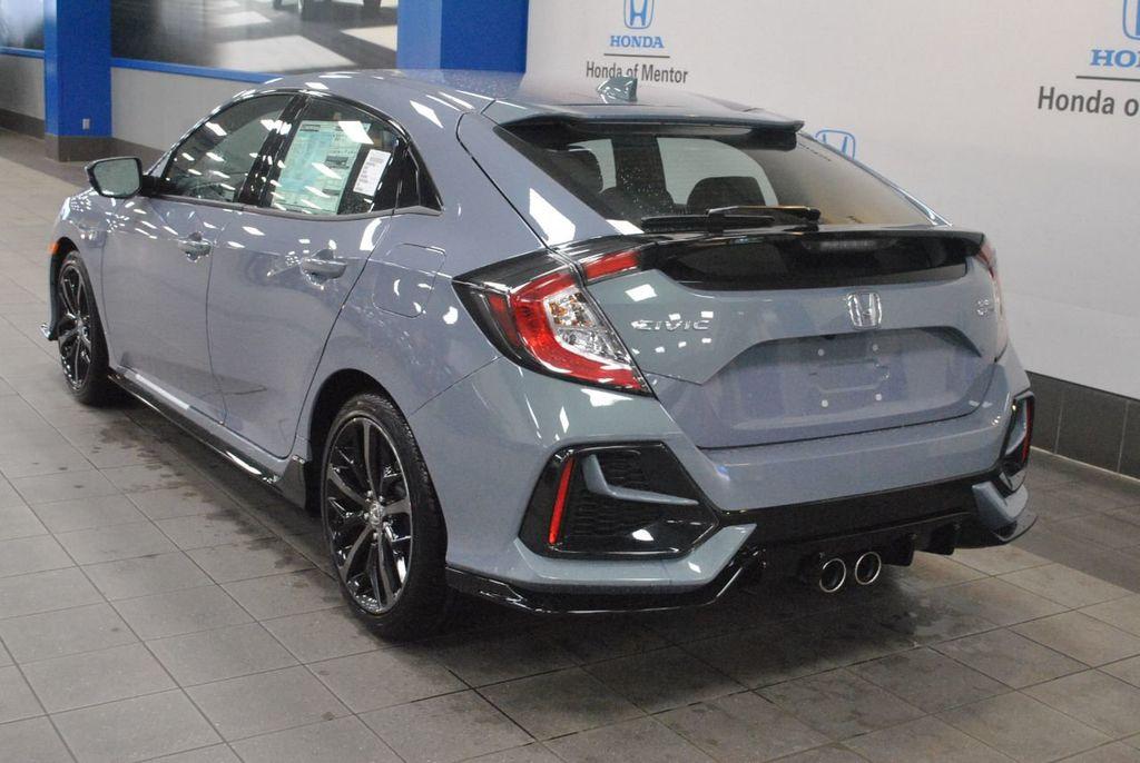 Honda Civic Hatchback Sport Exhaust View All Honda Car Models Types