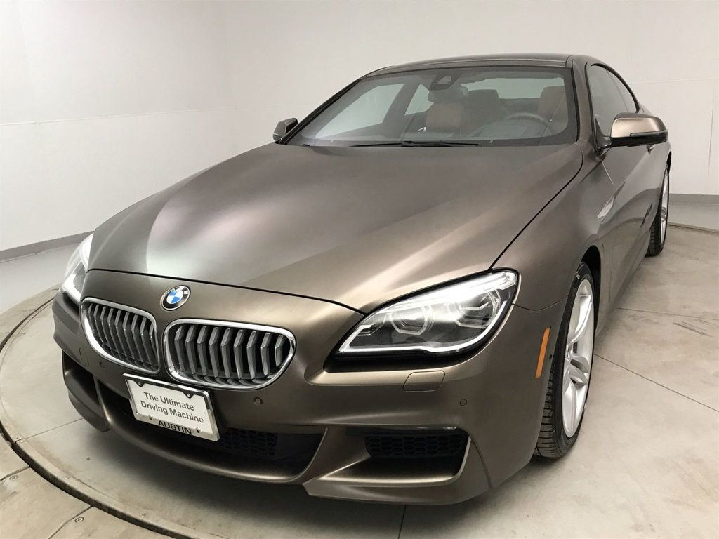 Certified Pre-Owned 2017 BMW 6 Series 650i