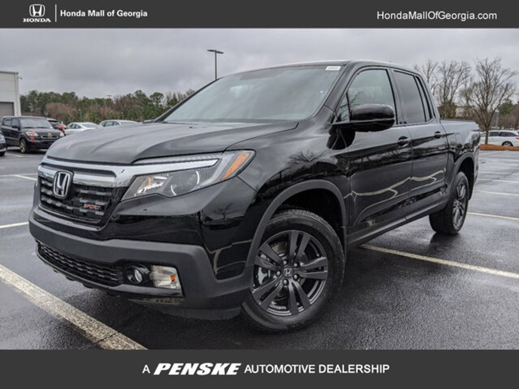 New 2019 Honda Ridgeline Sport Awd Truck At Honda Mall Of Georgia
