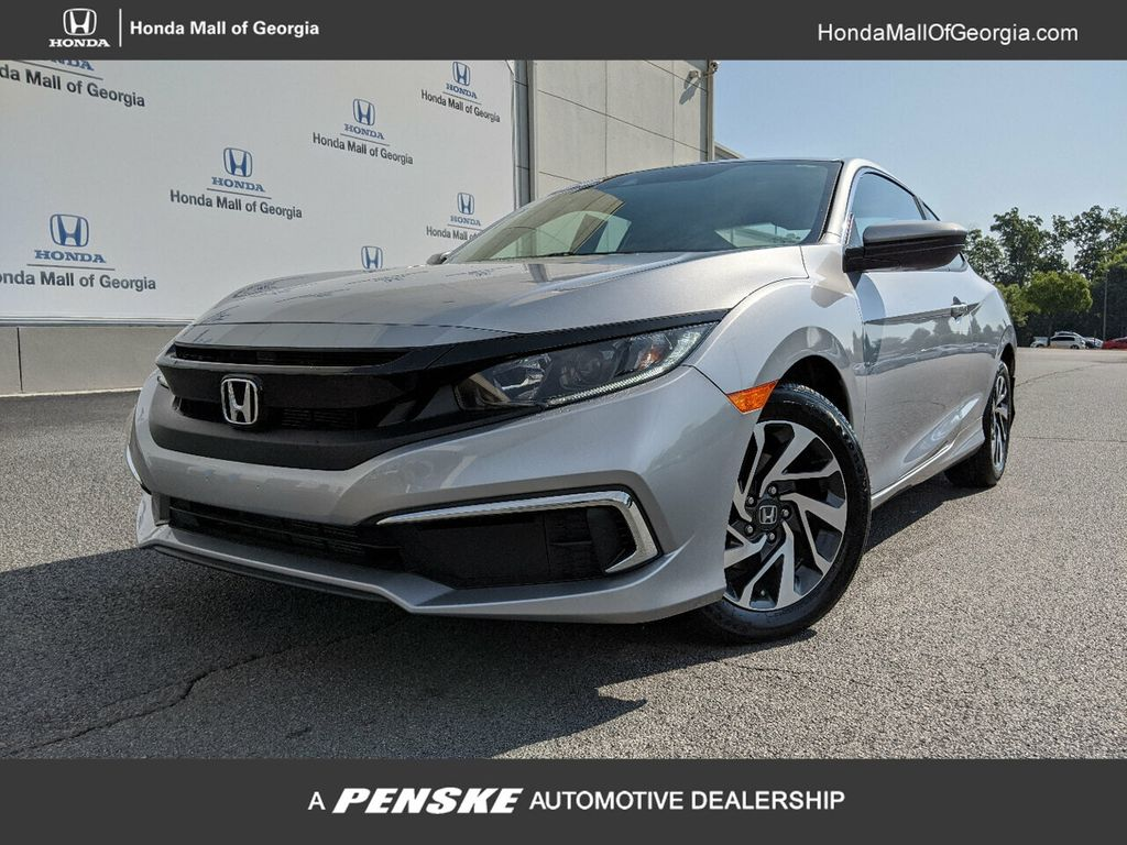 Certified Pre-Owned 2019 Honda Civic Coupe LX CVT