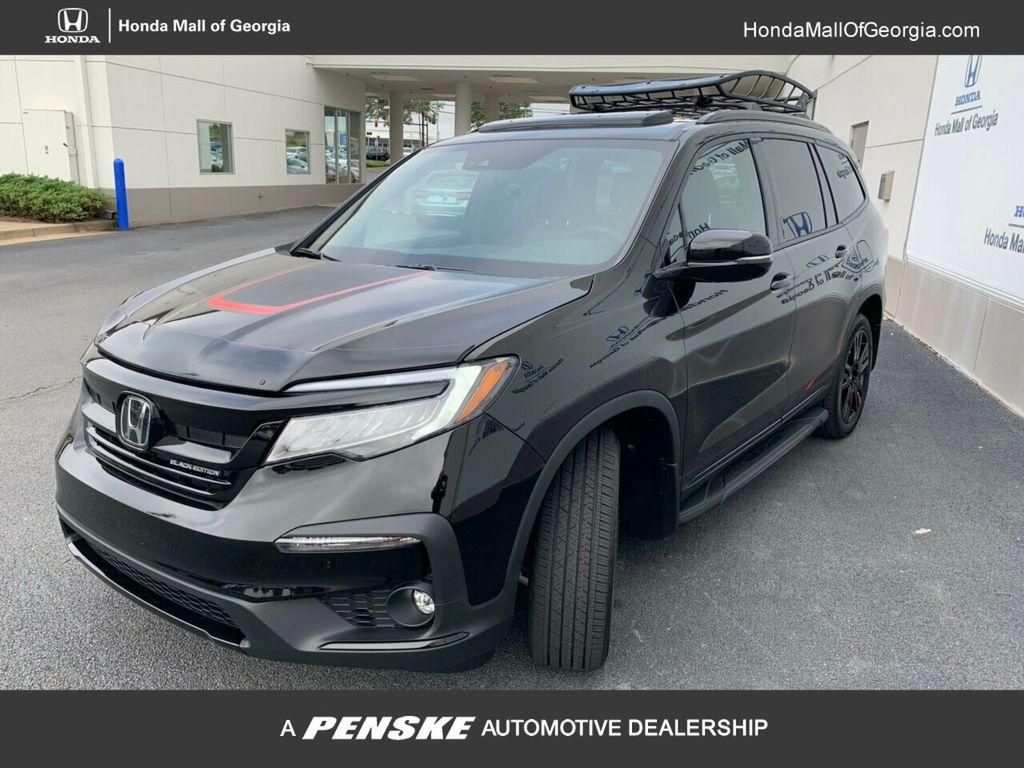 New 2020 Honda Pilot Black Edition Awd Suv At Honda Of Spring Lb030152 Penske Sale