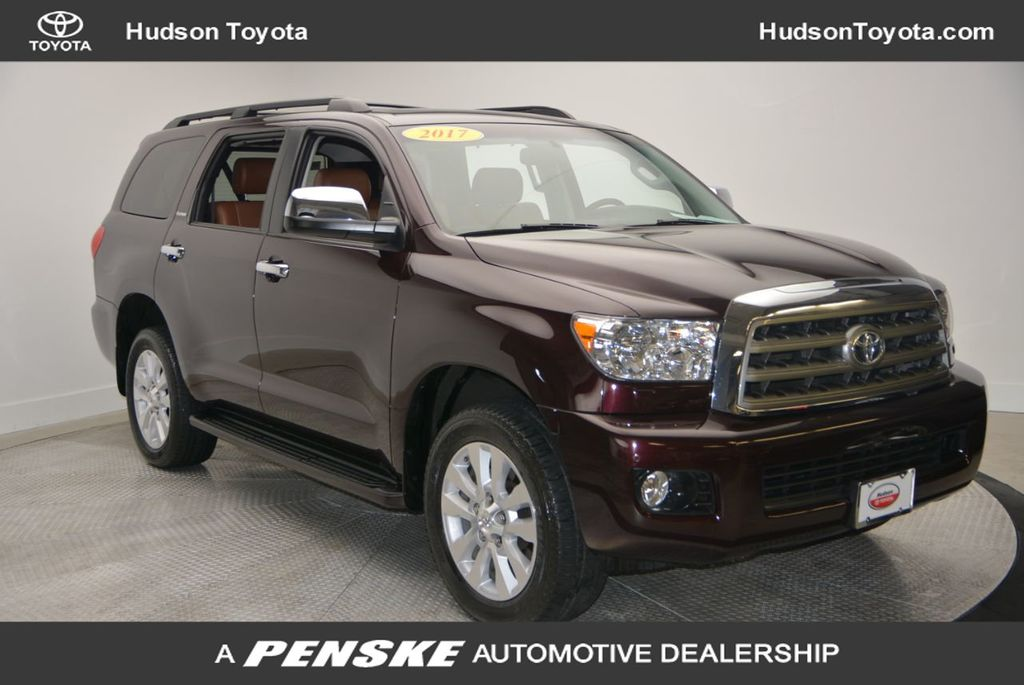 Certified Pre-Owned 2017 Toyota Sequoia Platinum 4WD