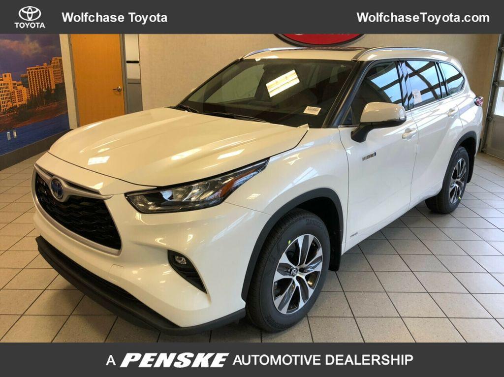 New 2020 Toyota Highlander Hybrid Xle V6 Awd Suv At Wolfchase Toyota Ls503308 Penske Sale