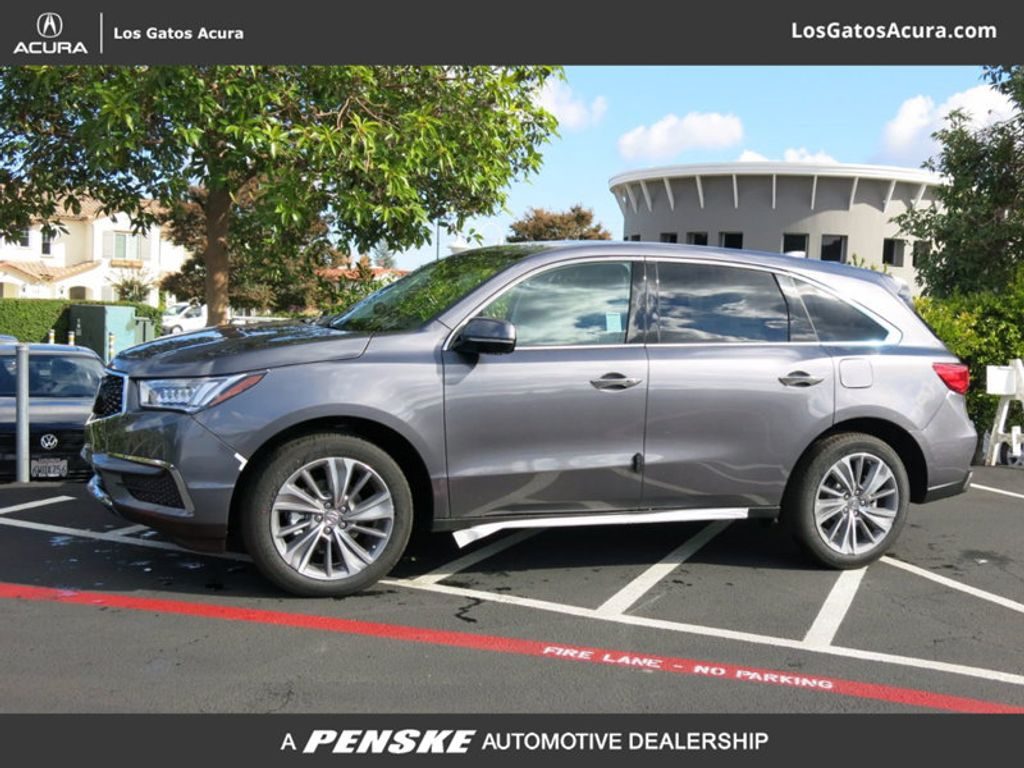 Pre Owned 2017 Acura Mdx Sh Awd W Technology Pkg Suv At