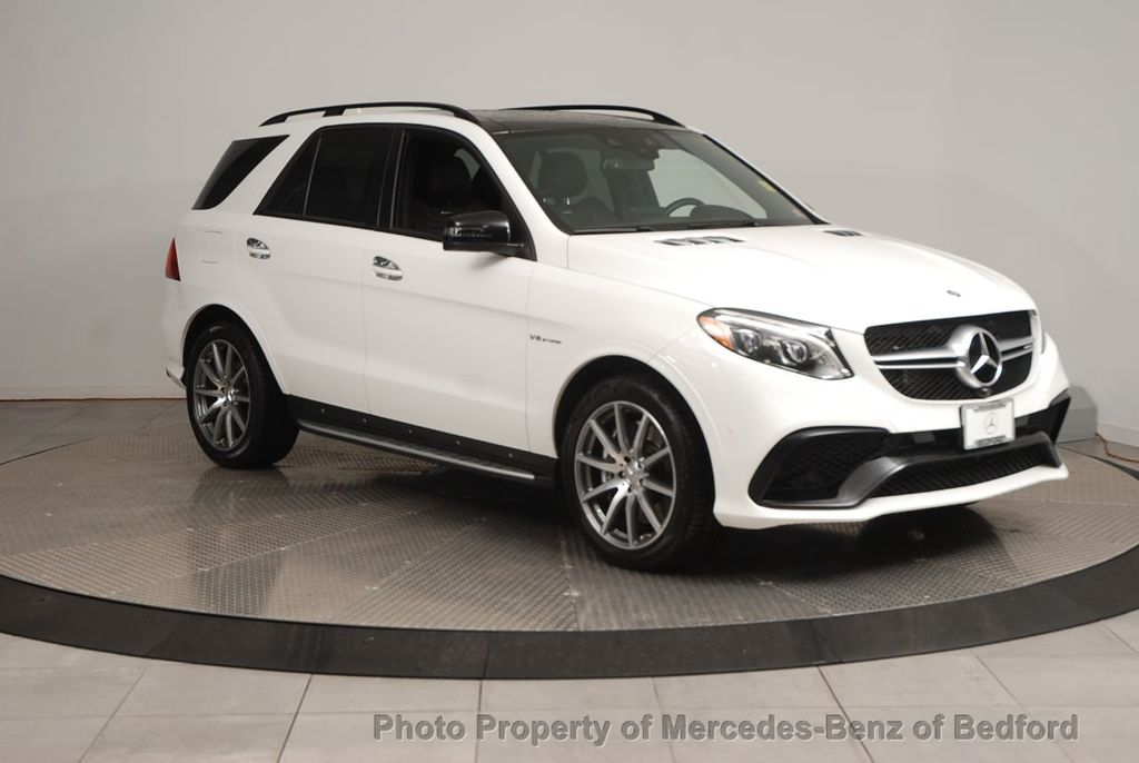 Pre-Owned 2017 Mercedes-Benz GLE AMG® GLE 63 SUV