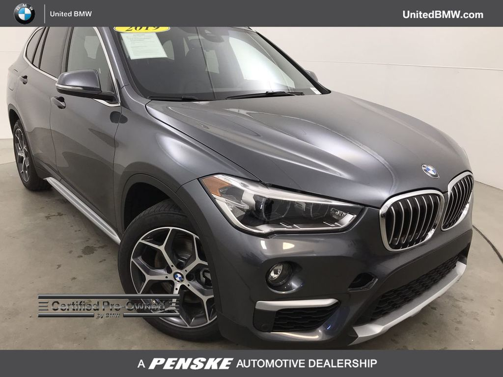 Certified Pre-Owned 2019 BMW X1 sDrive28i Sports Activity Vehicle