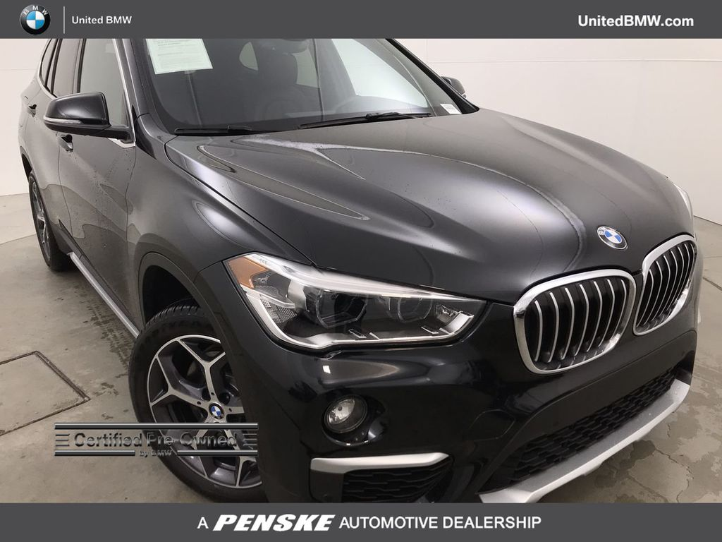 Certified Pre-Owned 2018 BMW X1 sDrive28i Sports Activity Vehicle