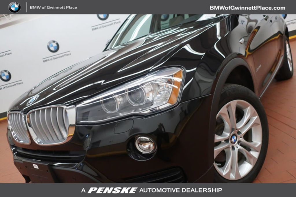certified pre owned 2017 bmw x3 xdrive35i suv at bmw of. Black Bedroom Furniture Sets. Home Design Ideas