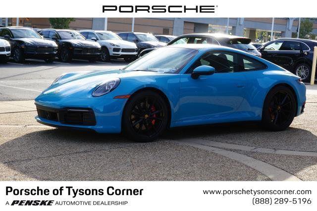 2020 New Porsche 911 Carrera 4S Coupe at Porsche of Tysons