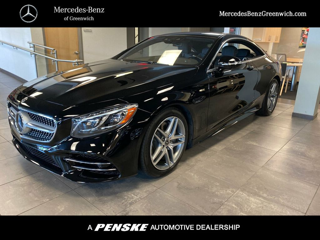 New 2020 Mercedes-Benz S-Class S 560 4MATIC® Coupe