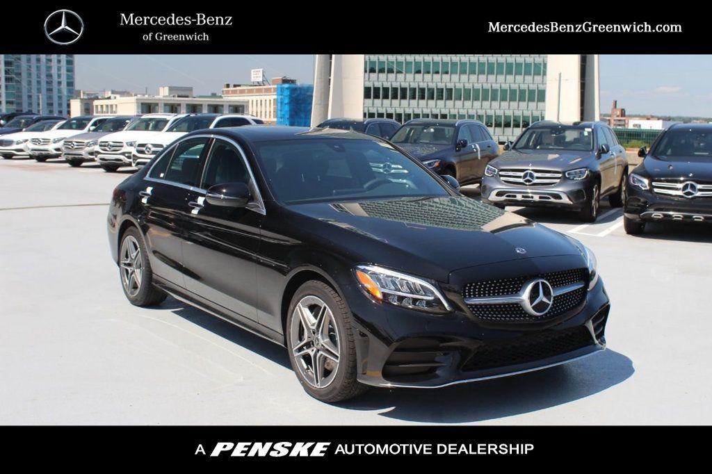 pre owned 2020 mercedes benz c class c 300 4matic sedan sedan in greenwich r526385a mercedes benz of greenwich mercedes benz of greenwich