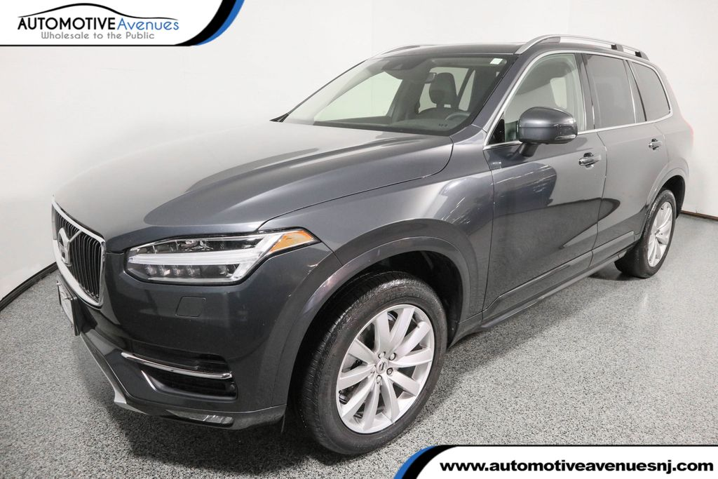 2016 used volvo xc90 awd t6 momentum with vision & convenience
