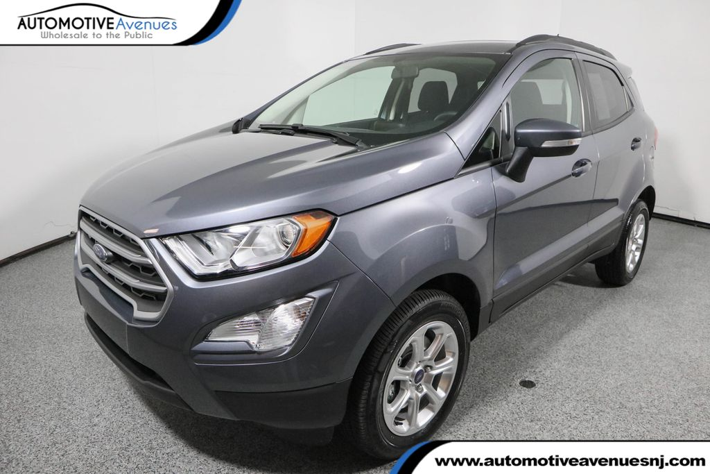 2018 Ford EcoSport SE 4WD with Power Sunroof Four Wheel Drive SUV